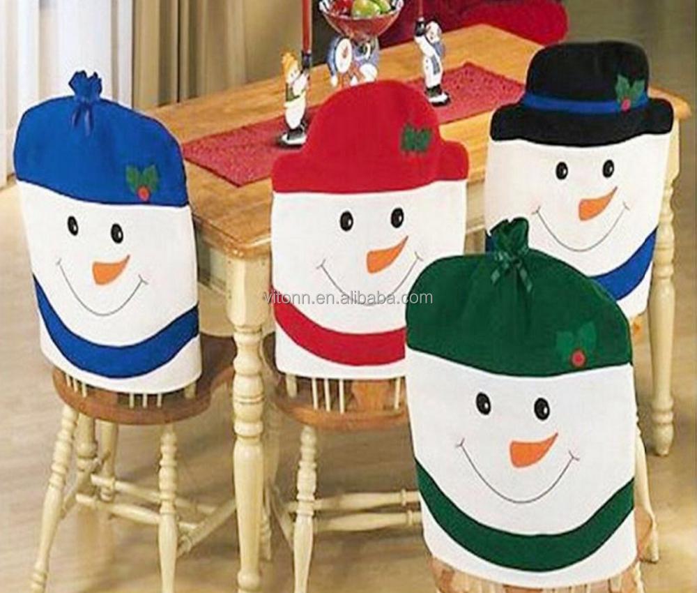Christmas chair covers - Christmas Chair Cover Christmas Chair Cover Suppliers And Manufacturers At Alibaba Com