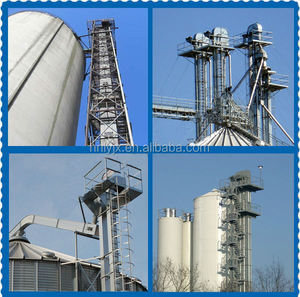 bucket elevator for grain transport / grain elevator