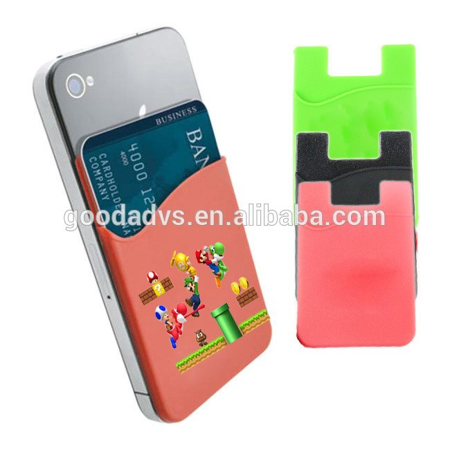China supplier hot ing pocket business card holder sticker