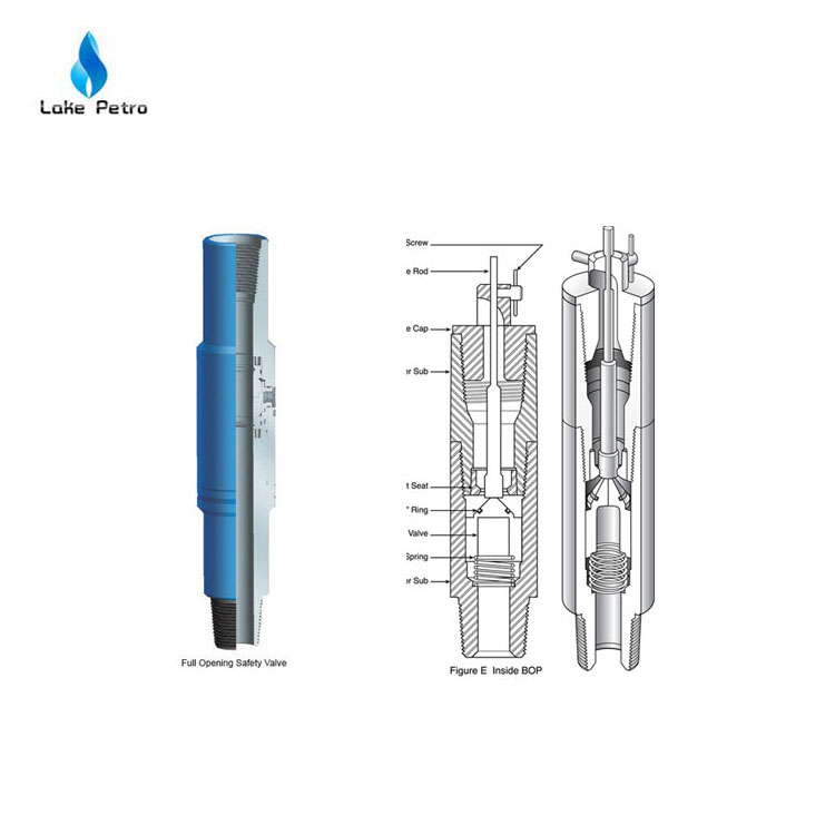 API well drilling use Full Opening Safety Valve (FOSV)