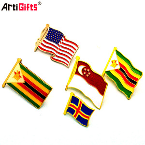 Lapel Pin Manufacturer China Supply Country Flags Lapel Pins
