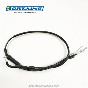 motorcycle spare parts motorcycle accessories CT100 PLATINA throttle speedometer cable for bajaj