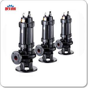 Centrifugal cast iron vertical sewage pump coal slurry pump waste water submersible pump