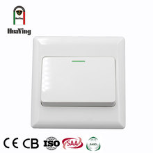86*86mm White Plastic mk wiring a single 1 gang or 2 gang one two way switch