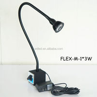 5w 120v Flexible Arm Machine Light With Magnetic Base Machine Work ...