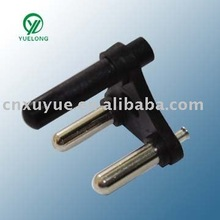 XY-A-007-1 round 4-pin power plug with ROHS certification