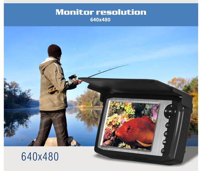 Fishing Equipment 15/25m Deeper Fish Finder Handheld Electronic Bait Fish Finder