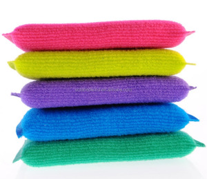 PP Yarn kitchen cleaning sponge scourers; Sponge dish scrubber