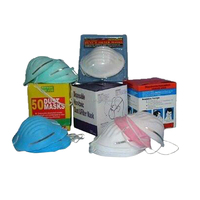 Disposable non woven 3m dust face mask