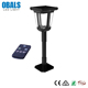 outdoor low voltage integrated solar powered led garden stick bollard line light