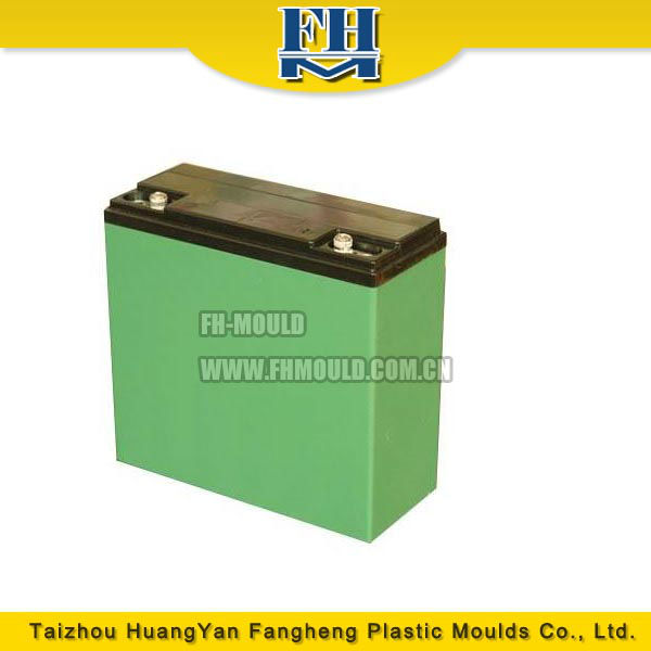 ABS car battery case injection mould plastic injection moulding