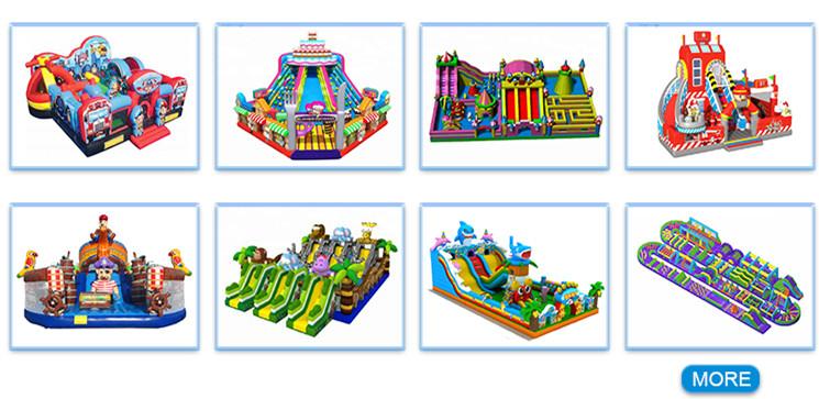 Aoqile inflável gigante castelo inflável comercial parque temático da água para as crianças