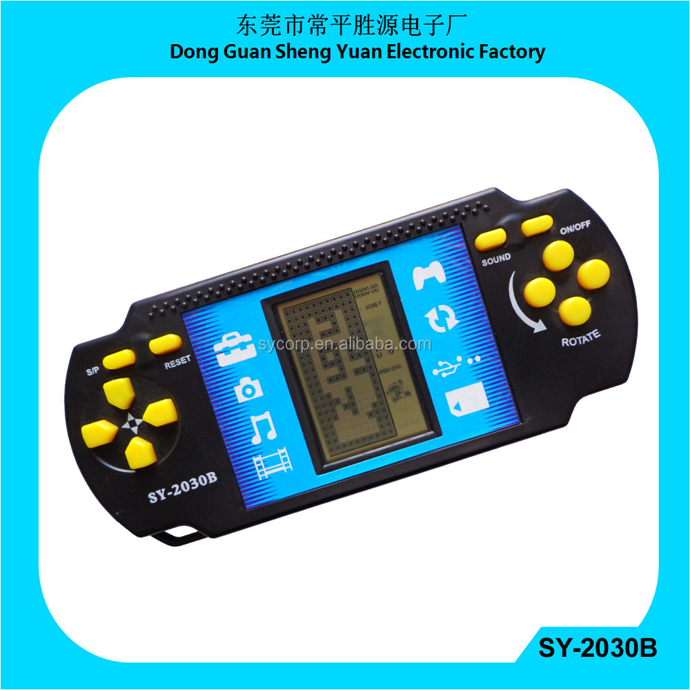 9999 in 1 brick game with jumbo screen display video game console kids game