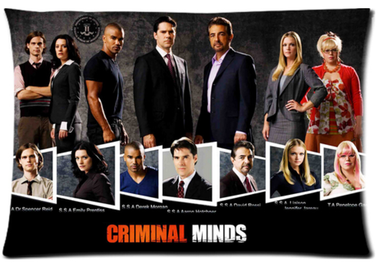 Criminal Minds Pattern Cool Fantasy Pillow Cases 20x30