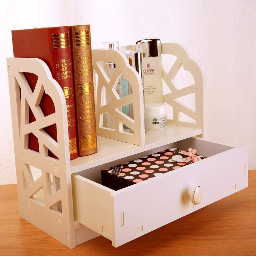 Yunfeng Bookshelf,Floor-Standing Multifunctional Rack Drawer Mini Province Space Wooden Storage fire-Proof Shelf