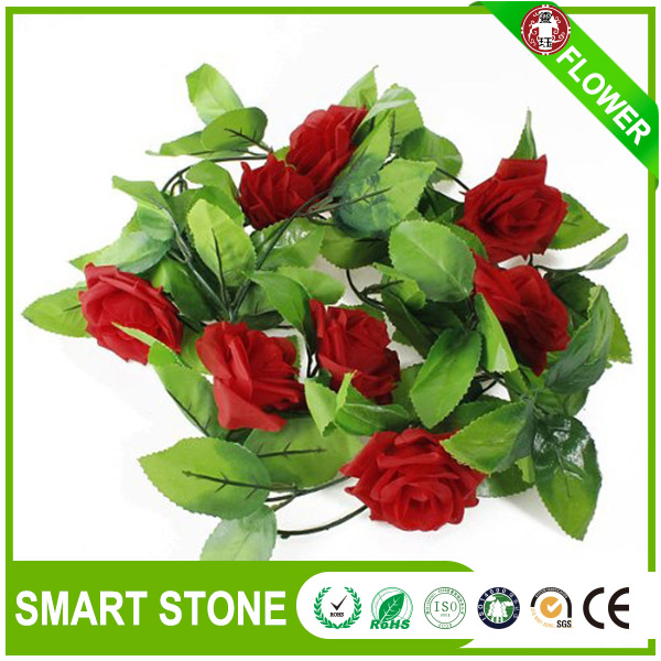 Anti Aging Silk Artificial Pansy Flower Rose Flower For Yard Decor
