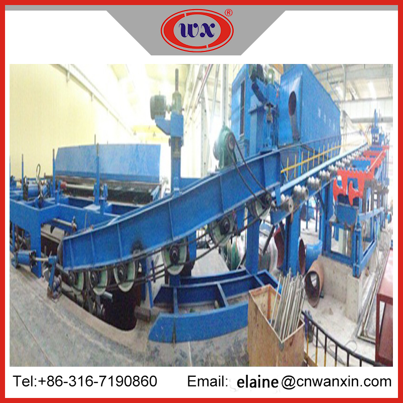 continuous hot dip zinc plating plant equipment line