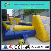 inflatable human football field,inflatable human soccer pitch,inflatable human table football game