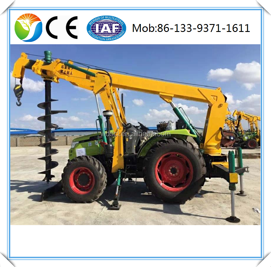 South Korea tree planting earth auger drilling plant,earthing equipment