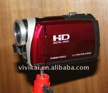 Super quality HD 720P 16MP digital camcorder with 3.0inch TFT LCD screen and 8x Digital zoom