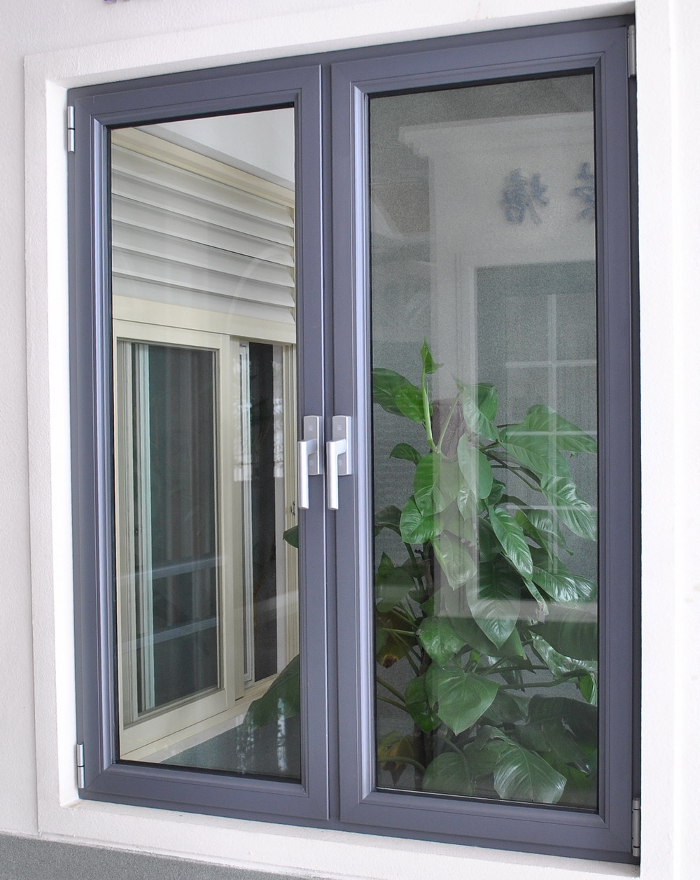 Insulating Glass Aluminium Folding Windows Aluminium Bi