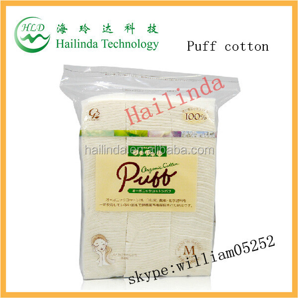 100% Japanese Wick Cotton Organic Vaping Cotton puff Cotton For Vaping