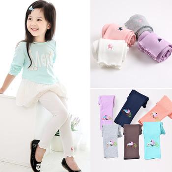 ילדה חדשה מגיעה צבע ממתקים בנות חותלות תינוק קלאסי חותלות 2-13Y ילדים המכנסיים מותק הילדים חותלות