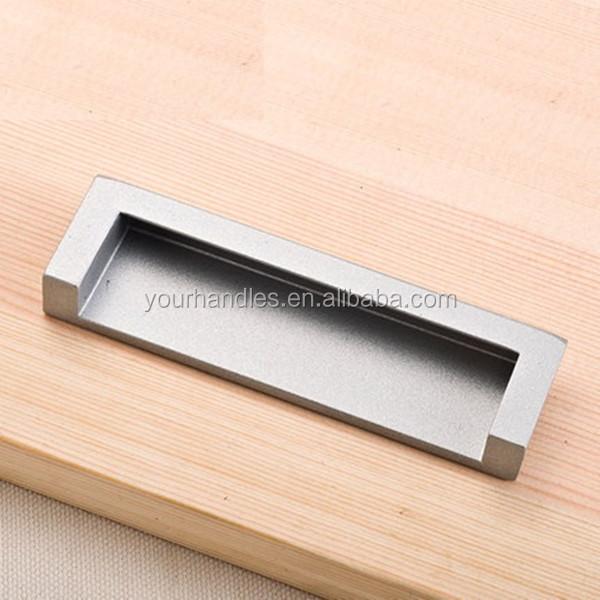 Superb Furniture Concealed Cabinet Pulls,recessed Flush Handles , Concealed Flush  Pull Handle