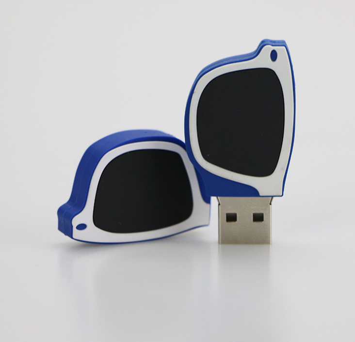 Professional USB Manufacture OEM/ODM Glasses shaped USB Flash Drive