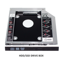 <span class=keywords><strong>HDD</strong></span> <span class=keywords><strong>Caddy</strong></span> 9.5 millimetri SATA a SATA Adattatore Hard Drive Per Il Computer Portatile Universale CD/DVD