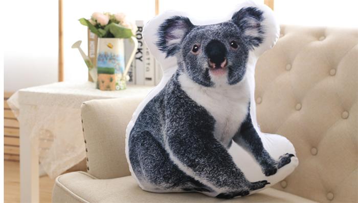 Vivid Tree Bear Animal Shape Cushion Pillow - Buy Tree Bear Shaped Pillow,Animal Shaped Body ...