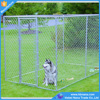 Wholesale outdoor large iron fence dog kennel / chain link fence panels for dog cages