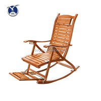 High quality cheap price living room folding chair used rocking bamboo chairs