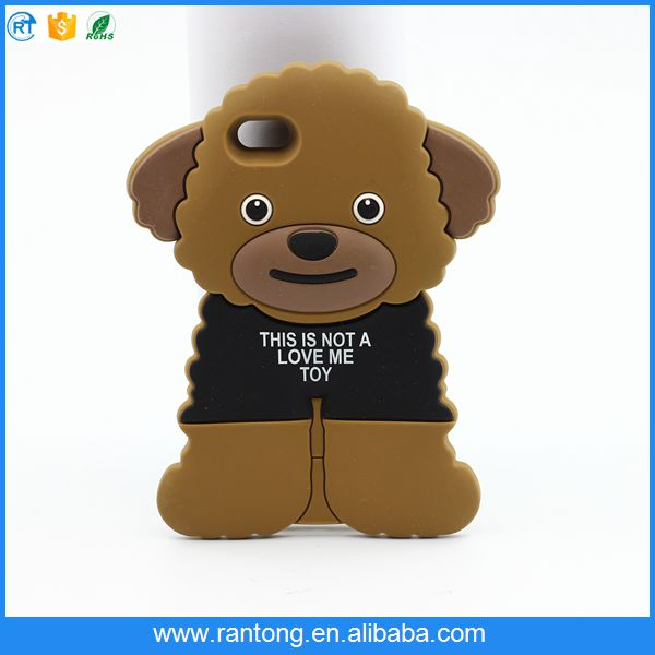 Factory supply OEM quality lovely dog phone case wholesale
