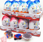 65g high quality super big girls and boys chocolate egg with big toys