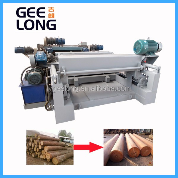Hout log debarker/log peeling machine/linyi jinlun fineer peeling machine