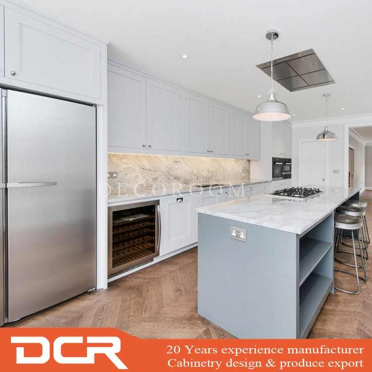 Australia Modular White Ash Kitchen Cabinet Sets Hanging ...