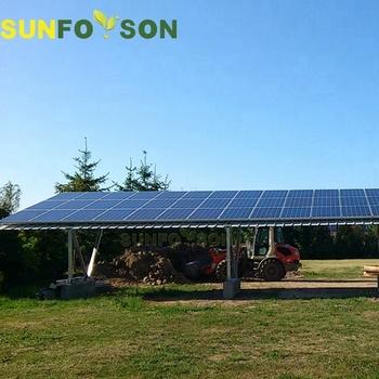 Aluminum Solar Water-proof Canopy/carport - Buy Solar ...
