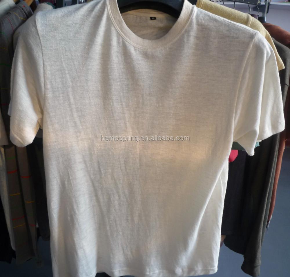 Mens Short Sleeve Plain Hemp T Shirt Buy Hemp T Shirt