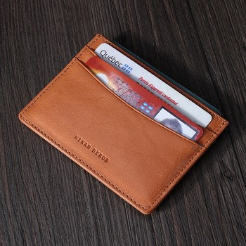 new photos 2b7d7 06f38 Tan leather card holder ATM card sleeve vegetable tanned leather card pouch  thin style, View Tan leather card holder ATM card sleeve, Hiram Beron ...