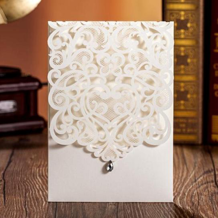 Card Design European Style Kerala Christian Wedding Card Matter