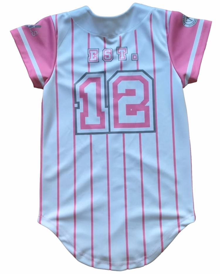 China factory seller popular brand lovely wholesale women baseball t shirt
