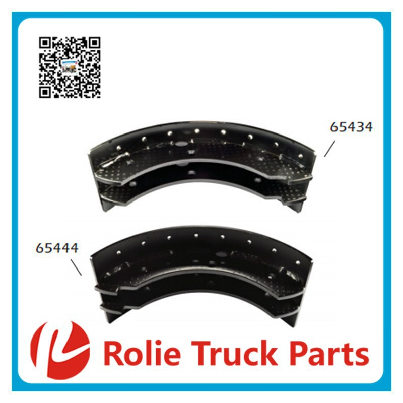 65531 VOLVO heavy duty lorry oem 3090 073 bus spare parts Unlined, Thin 5mm Brake Shoe Kit, Brake Drum