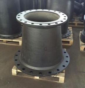 ductile iron fitting iso2531 en545 Double flanged taper