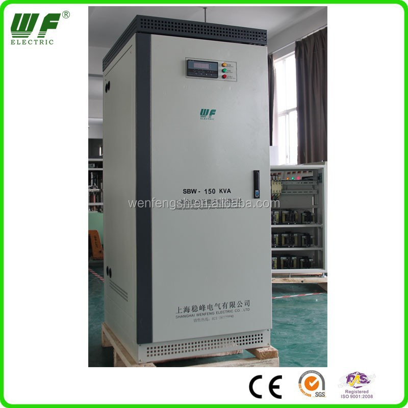 3 phase voltage regulator for printing presses