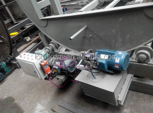 automatic plywood turnover machine in woodwoking / turnover machine