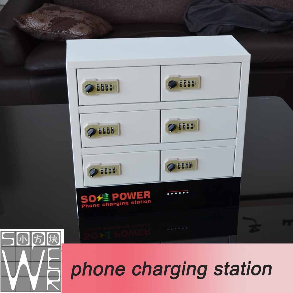 2015 new arrival smart locker phone charging station 48v electric battery charger