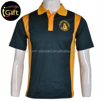 98d9b9ba4 School Uniform Factory Girls Short Sleeve Men Polo T-shirt Polyester ...