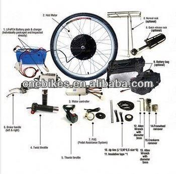 1000w Electric Bike Conversion Kit Ebike Conversion Kit