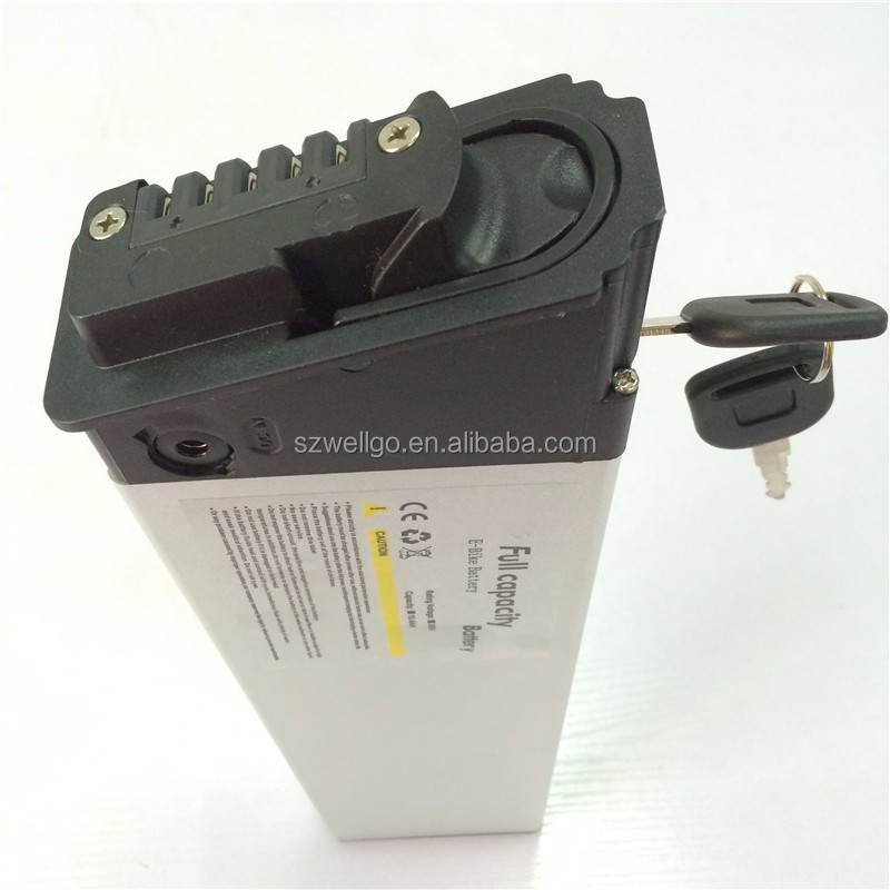 Customize Rechargeable 36v 10.4ah electric bike li ion LG battery Pack